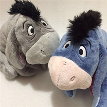 Original Gray Blue Special Eeyore Donkey Stuff Animal Cute Soft Plush Toy Doll Birthday Children Gift Collection(China)