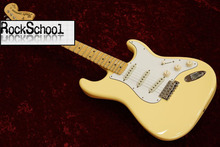guitars Custom Shop/maple Fingerboard/YNGWIE MALMSTEEN stratocaster Electric Guitar/OEM Customizable exclusive LOGO/yellow