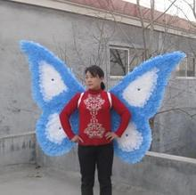 COOL!The latest wedding photography/cosplay show nice beautiful fashion pure natural feather butterfly shape angel wings