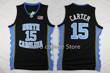 2016 Vince Carter #52 James Worthy #42 Jerry Stackhouse #15 north carolina tar heels  Basketball jersey retro College Jersey thr