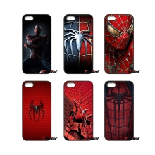 For Xiaomi Redmi Note 2 3 3S 4 Pro Mi3 Mi4i Mi4C Mi5S MAX iPod Touch 4 5 6 Spiderman Spider Man Logo Art Print Hard Phone Case