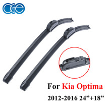 "Oge Windshield Wiper Blades For Kia Optima 2012-2016 Pair 24""+18"" Windscreen Silicone Rubber Car Auto Accessories"