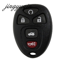 jingyuqin 5 BUTTON REMOTE KEY SHELL For G-M BUICK CADI CHEVY CHEVROLET GMC PONTIAC SATURN FOB CASE COVER