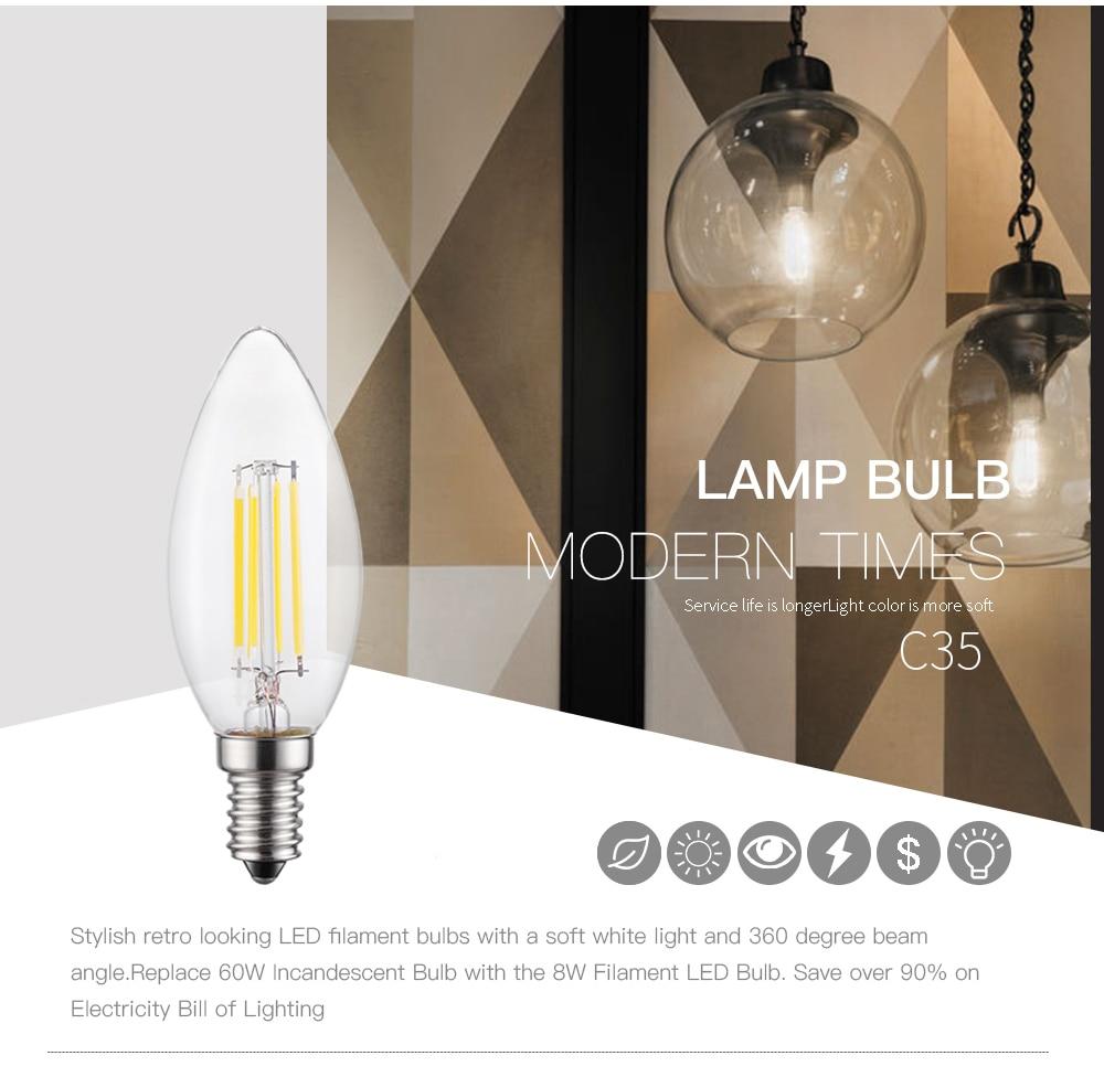 Led Candle Lamp E14 220v