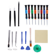 23 in 1 Repair Opening Tool Kit Screwdriver Set Repair Tools Phone Disassemble Tool Set For iPhone iPad HTC Cell Phone Tablet(China)