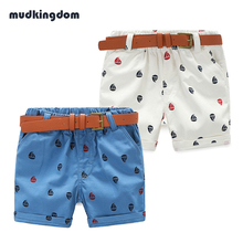 Mudkingdom Children's Shorts Printed Boys Shorts Kids Clothes Boys Pants Summer Short menino Bermuda Menino Pantalon Corto nina