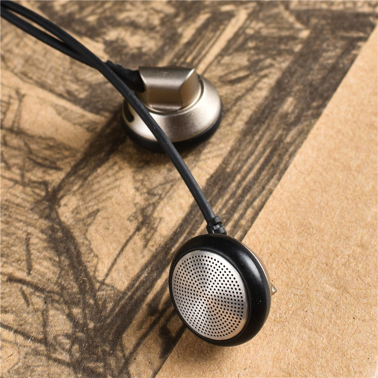Original YINCROW RW-777 In Ear Earbud Flat Head Plug Earplugs Earbud Metal Earphone Headset