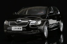 Car Model 1:18 Shanghai Volkswagen Skoda Superb (Black)