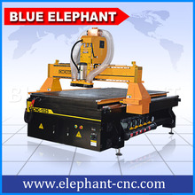 Hot sales! widely used!cheap sculpture wood carving cnc router machine with vacuum table and dust collector(China)