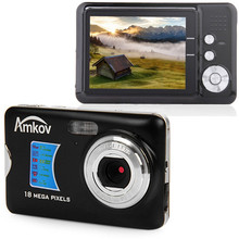 H Original Digital Camera 18 Megapixel 2.7 inch TFT Display Travel Mini HD Shooting Camera Portable Manual Digital Pocket Camera(China)