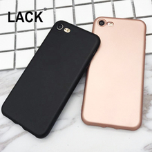 Fashion Candy Color Soft Case For iphone 7 Case Luxury Plating Scratch-resistant Back Cover Phone Cases For iphone7 7 PLus Coque(China)
