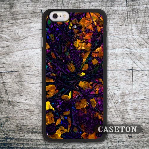Autumn Leaves Abstract Painting font b Case b font For font b iPhone b font 7