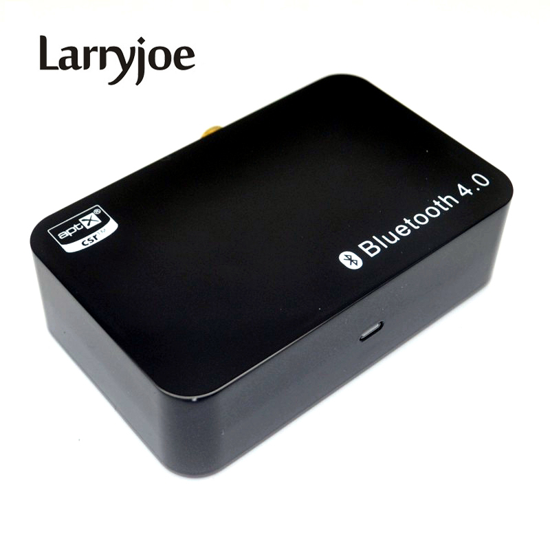 Larryjoe New Bluetooth Music Receiver Aptx Wireless Bluetooth4.0 Audio Adaptor Digital Optical Coaxial Analog 3.5mm Output(China)