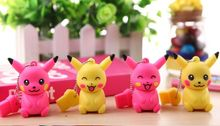 Best selling USB flash drive cartoon cute Pokemon Pikachu shape USB Flash Drive pendrive memory stick  pen drive 4GB-64GB S239