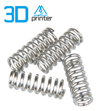 HOT!10pcs/lot 3D printer accessory extruder strong spring (wire diameter 1.2 mm) use for DIY Ultimaker/Makerbot