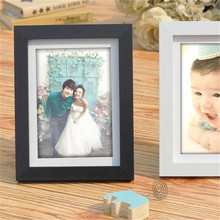 Colourful Picture Frame Cheap Photo Frame Simple Wedding Couple Picture Frame Holder Desktop Decorations Family Marcos De Fotos(China)