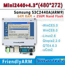 FriendlyARM Development Board kit ARM MINI2440+4.3 inch 480*272 touch screen,64M Ram+256 Flash,S3C2440 2440 ARM9 linux ucos