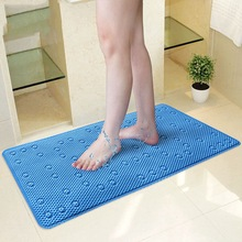 Anti Slip Bathroom Mats Bathroom Rugs Shower Mat Bathtub Massage Pad Safety Suckers Hollow Out Absorbent Bathroom Carpet(China)
