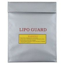 New RC LiPo Battery Safety Bag Safe Guard Charge Sack (Large) AA401(China)