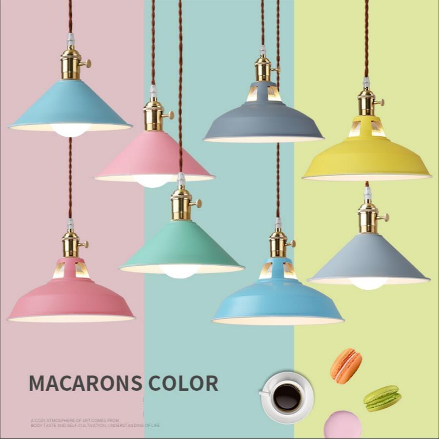 LOFT Vintage LED lamp pendant light aluminum Iron colorful Marca dragon indoor lighting modern lamp restaurant bar light fixture<br>