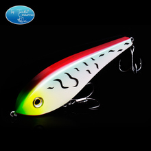Topwater Pencil Jerk Bait Unique Head Design Fishing Lure 155MM/80G(China)