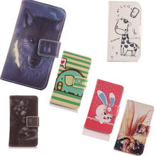 Exyuan Unique Cell Phone Cover Flip Book Style With Card Slot PU Leather Case For Prestigio Multiphone 3405 DUO Hot Sale