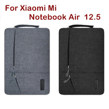 Fashion Sleeve Bag For Xiaomi Mi Notebook Air 12.5 Inch Laptop Pouch Case Creative Handbag Protective Skin Cover Stylus Gift(China)