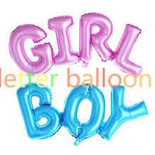 link boy girl letter balloon connect letter foil balloon Giant Ligatures Boy Girl Ballon Wedding Birthday Party Decor  Globos