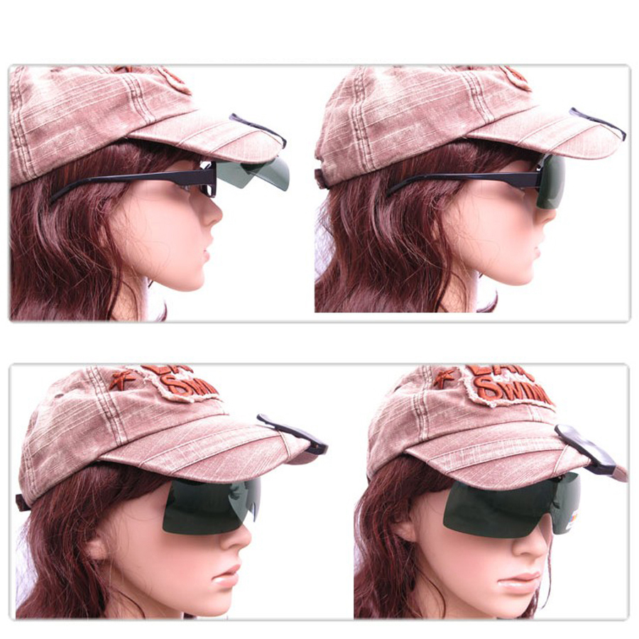 clip polarized glasses