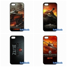 New World of Tanks Hard Phone Case Cover For Apple iPod Touch 4 5 6 iPhone 4 4S 5 5S 5C SE 6 6S Plus 4.7 5.5