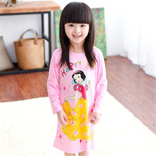 Children Pajamas Sleepwear Girls Nightgown Kids Girls Nightdress Cute Cartoon Mouse Kitty Girl Home Furnishing Clothing