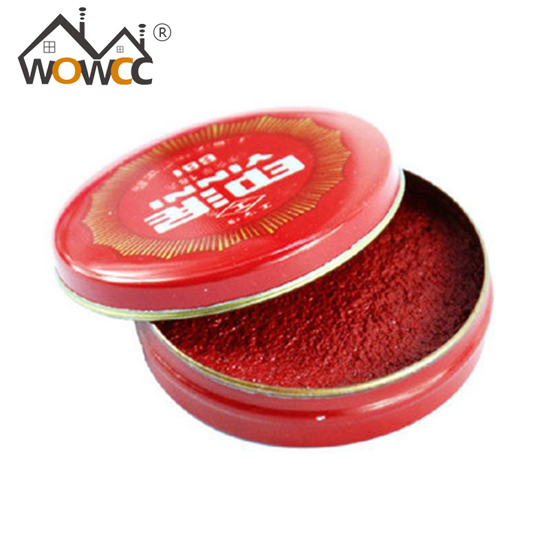 Round Red Ink Paste Calligraphy Stamp Seal Painting Chinese Yinni Pad 18g 36g 54g 80g<br><br>Aliexpress