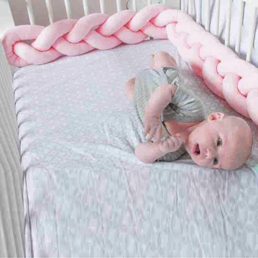 Infant Creeping Guardrail Bed Safety Rail Protect The Baby Room Decoration Bumpers Suitable For 0