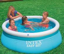 Six-foot pool INTEX 54402 28101 butterfly large pools family swimming baths frame size 183 * 51cm With hand pump