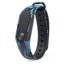 Buy Fashion Camouflage Pattern Strap Wristband Bracelet High Watch Band Wrist Band Replacement Xiaomi MI Band 2 July21 for $1.37 in AliExpress store