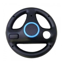 Hot Black Steering Wheel For Nintendo Wii Mario Kart Racing Top Quality Games Remote Controller(China)