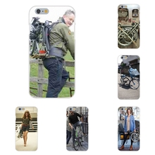 brompton folding bike For Apple iPhone 4 4S 5 5C SE 6 6S 7 7S Plus 4.7 5.5 Soft TPU Silicon Protector Cases