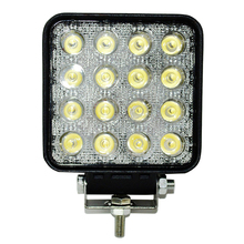 SQUARE DESIGN 48W LED WORK LIGHT SALE BY PAIR FOR ATV SUV CAR PARTS BOATS 4X4 OFFROAD DRIVING(China)