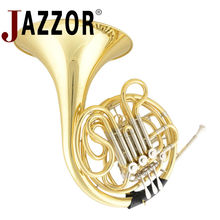 JAZZOR JBFH-601 4-key Double French Horn Entry Model, Bb/F Wind Instruments French Horns with mouthpiece Free Shipping