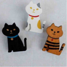 Zakka Miranda cat wood clip manufacturing simple packaging storage folder crafts manufacturers wholesale