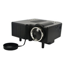 Portable Mini Home LED Projector HD 1080P UC28 VGA/USB/SD/AV/HDMI Pico Proyector Video Beamer Home Theater for PC Laptop