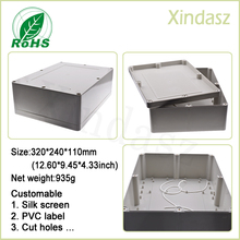 320*240*110mm Large waterproof electronic project box plastic box plastic electronic enclosure