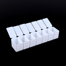 Convenient Mini Weekly 7 Days Medicine Pill Storage Box Travel Medicine Case Pillbox Drugs Container