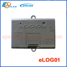 eLOG01 the function record and down datas matched with solar controller mainly for photovoltaic cells batteries equipment