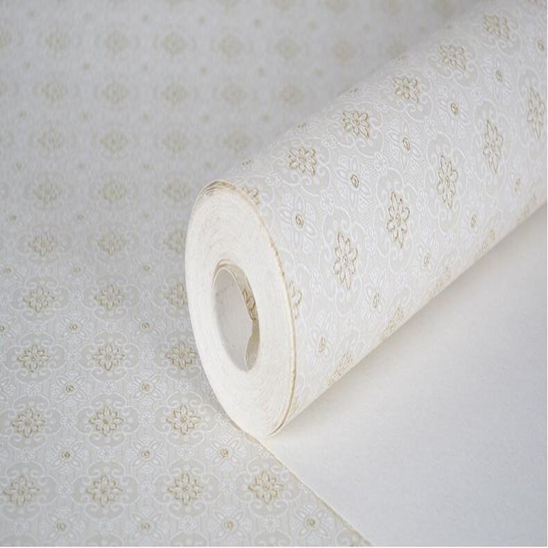 Living room bedroom non - woven wallpaper 3d European - style warm green foil beautifully small flower shop decoration<br><br>Aliexpress