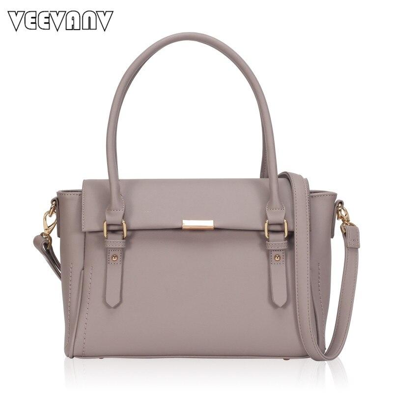 VEEVANV Designer Office Lady Handbag High Quality Leather Shoulder Bags Fashion Tote Hangbag Women Messenger Bags Crossbody Bags<br>