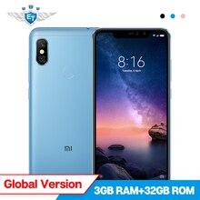 Xiaomi Redmi Note 6 Pro 3GB 32GB Global Version Mobile Phone 6.26'' Full Screen Snapdragon 636 Dual AI Camera 20MP Front Camera