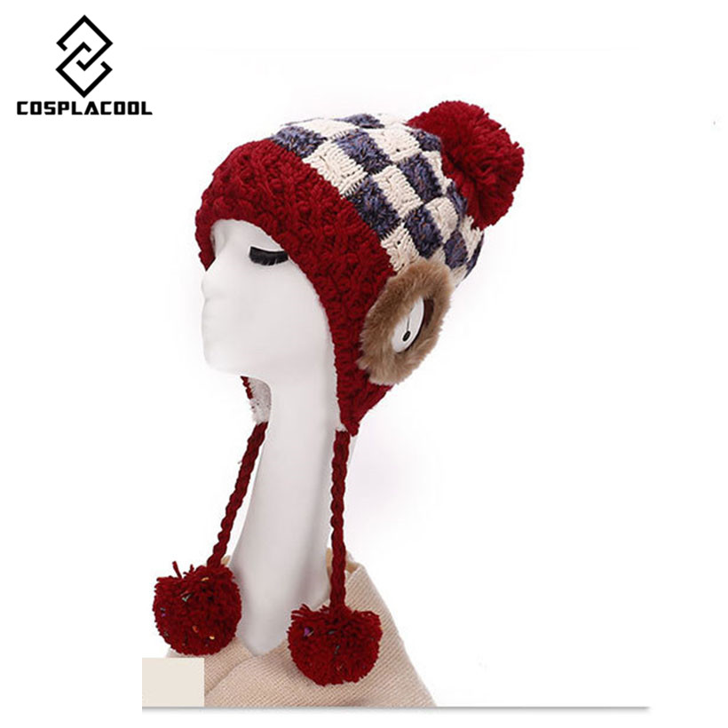 winter men women Hat Knitted Wool boy girl cap Beanie solid adult hats stretchy Warm Skull gorras female hedging capÎäåæäà è àêñåññóàðû<br><br><br>Aliexpress