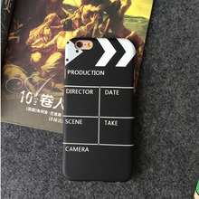 JiBan Director field slab for iphone 6 6S plus case phone shell movie shouting card board protective cover 5se feel hard shell