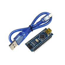 Free Shipping!  Nano 3.0 controller compatible with for arduino nano CH340 USB driver with CABLE NANO V3.0